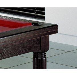Table billard convertible, billard et table (vue détaillée)