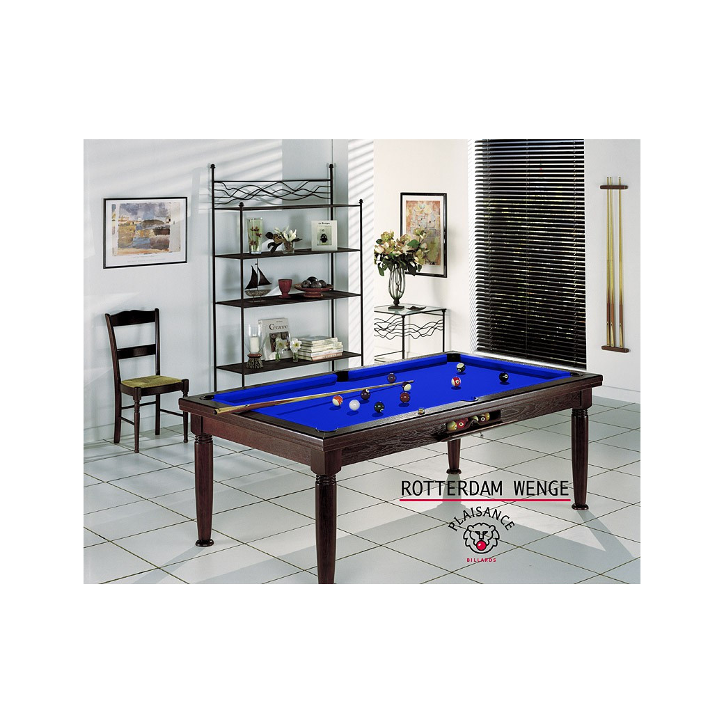 Billards france et son tapis bleu pool pour jeu billard fr, us et/ou 8 pool