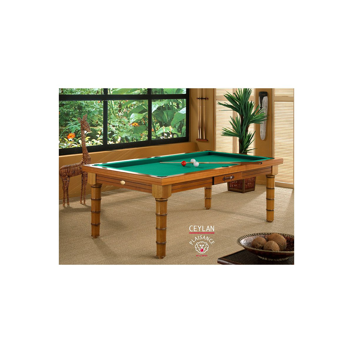 Billard ceylan en table de billard transformable - Billard transformable ...