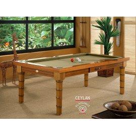 Achat table de billard avec tapis de jeu gold de luxe