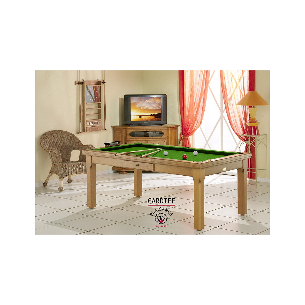 Billard : la table convertible Cardiff