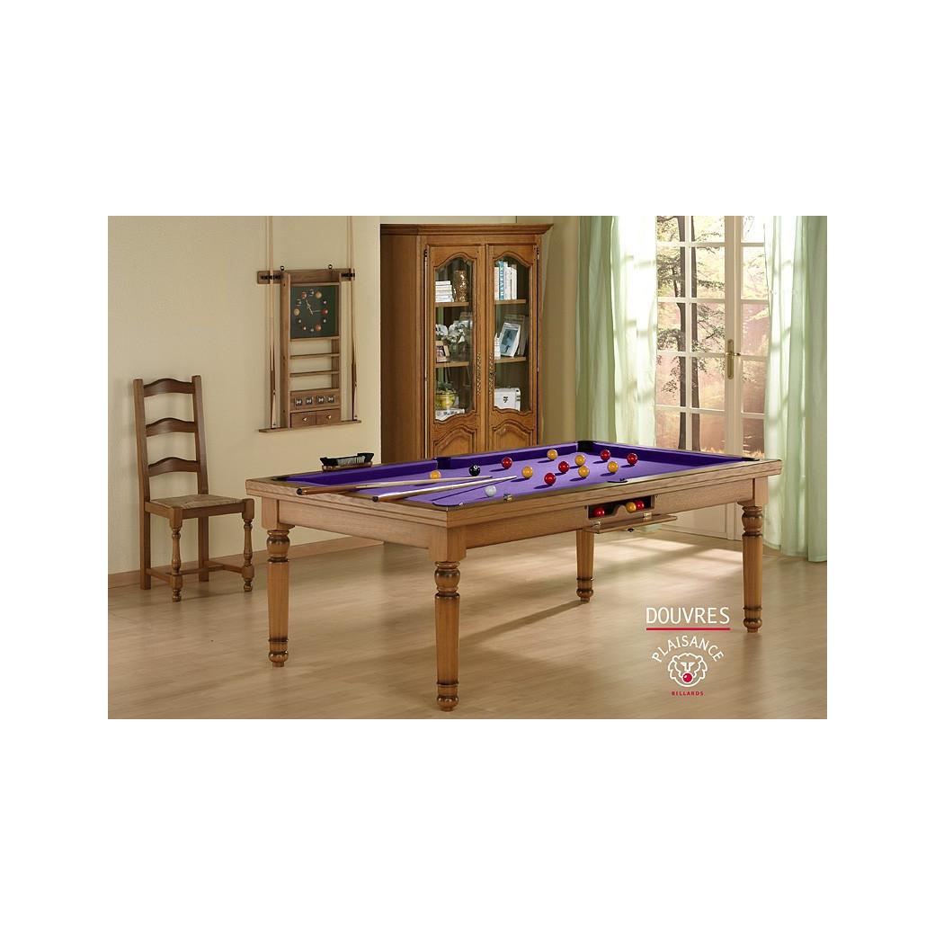 Billard violet : jeu de billard americain