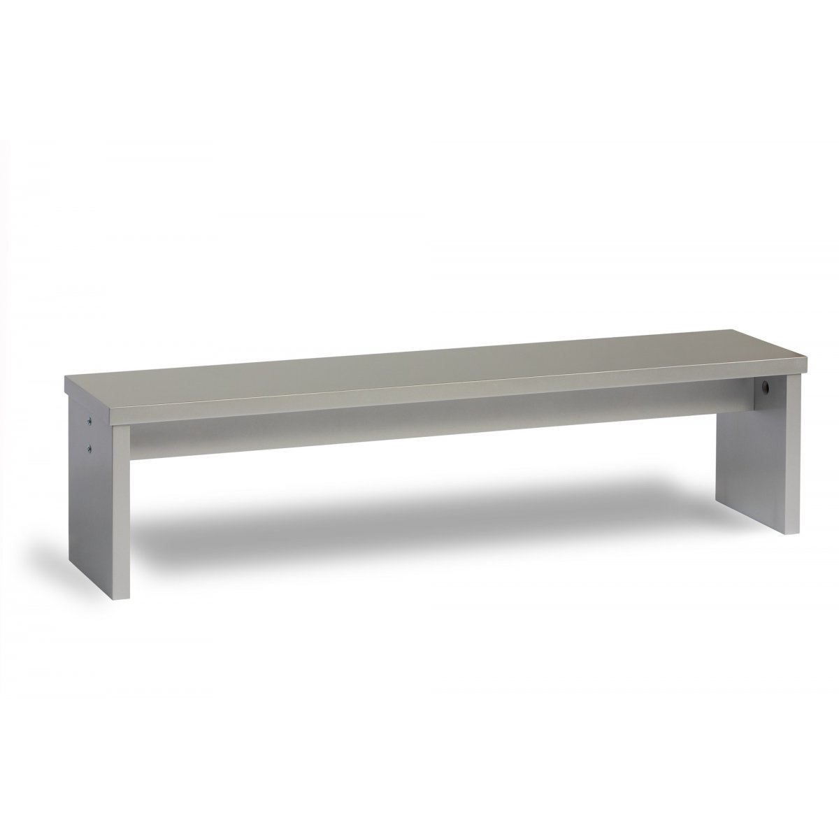 banc gris inox brillant pour d 39 un billard table a manger. Black Bedroom Furniture Sets. Home Design Ideas