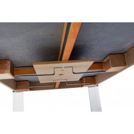 Rangement des accessoires sous la table de billard