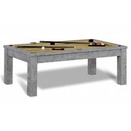 Billard transformable table (gold)