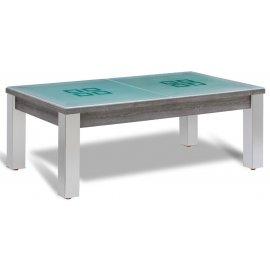 Table billard transformable et pieds en inox