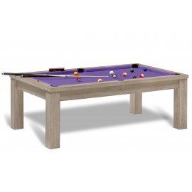 Table billard convertible (violette)