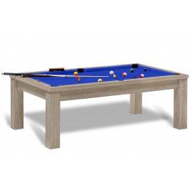 8 pool et tapis bleu pool pour billard anglais