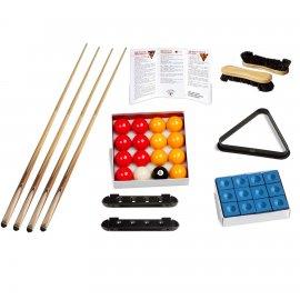 Kit d'accessoires 8 pool avec billes pour billard anglais