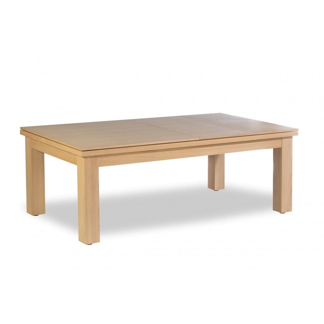 Billard table a manger, avec le dessus table en bois
