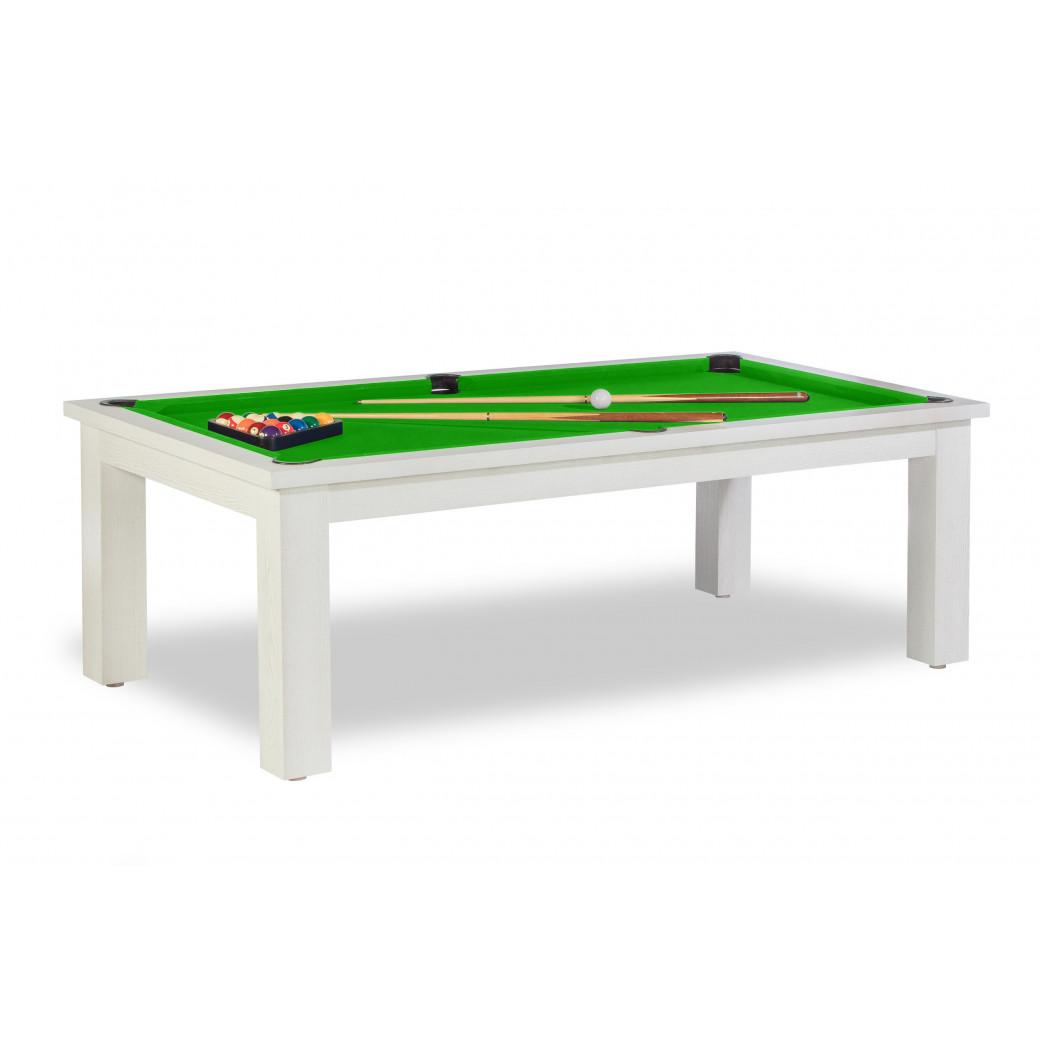 Billards table, avec tapis ywan simonis vert pomme