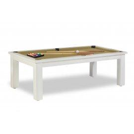Billard transformable table, inclus avec le tapis couleur or (gold simonis)