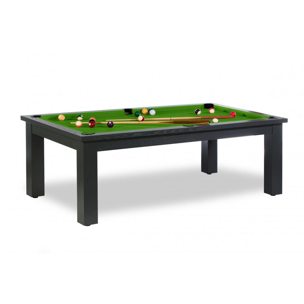 Table billard convertible prix : avec tapis vert pool pour billard 8 pool, fr et us