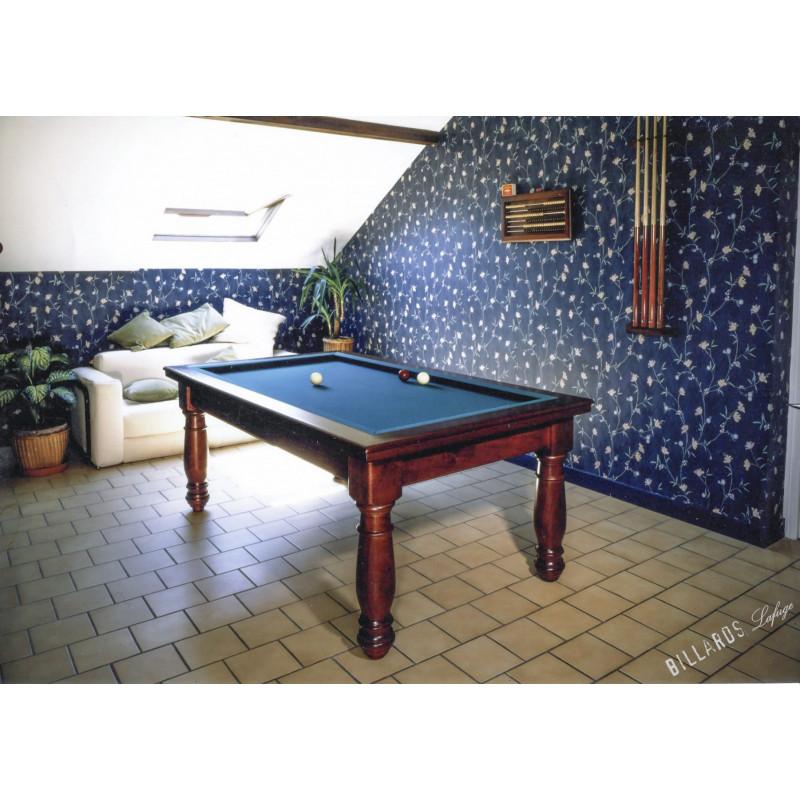 Billard table : Manoir Lafuge
