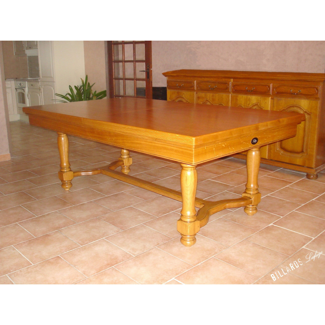 Billard table à manger : Castel Lafuge