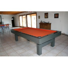 Billard laque en table 2m60