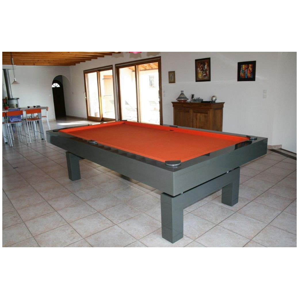 Billard laque en table 2m60