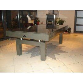 Billard table à manger, avec son plateau table laqué
