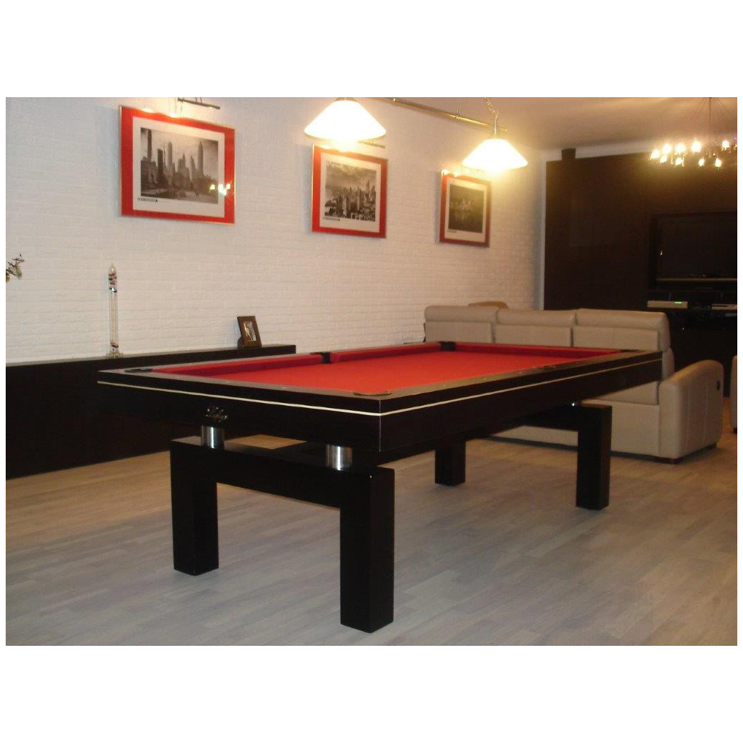 Billard mixte, tapis de billard burgundy