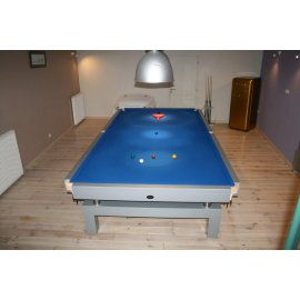 Snooker Arcade 12FT drap bleu