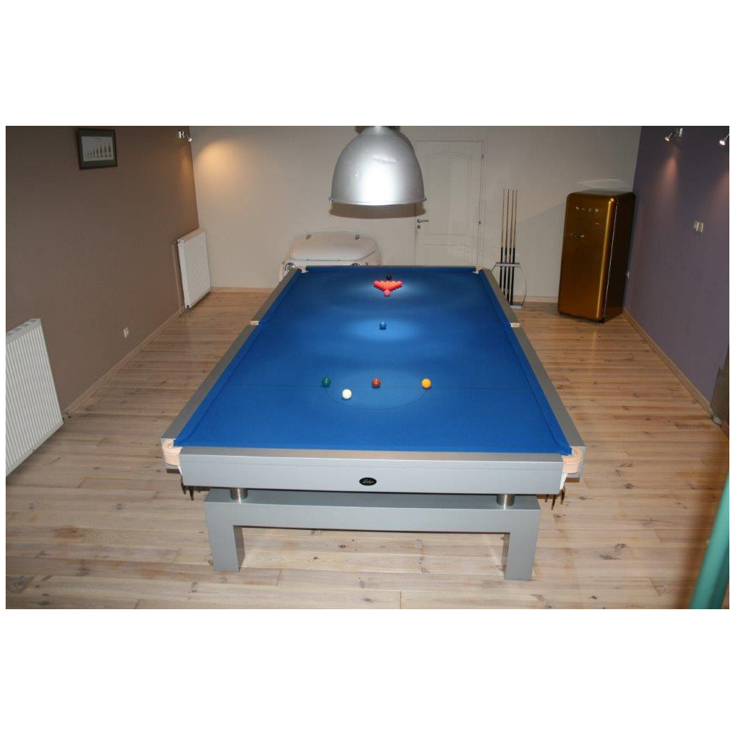 Snooker Arcade 12FT drap bleu