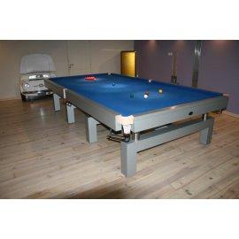 Billard snooker bleu