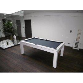 Table a billard, eos laqué blanc gris de la marque Lafuge