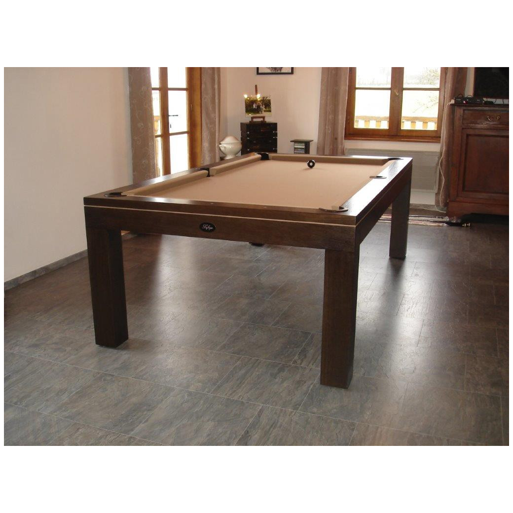 Billard americain disponible aussi en : Table billard francais convertible