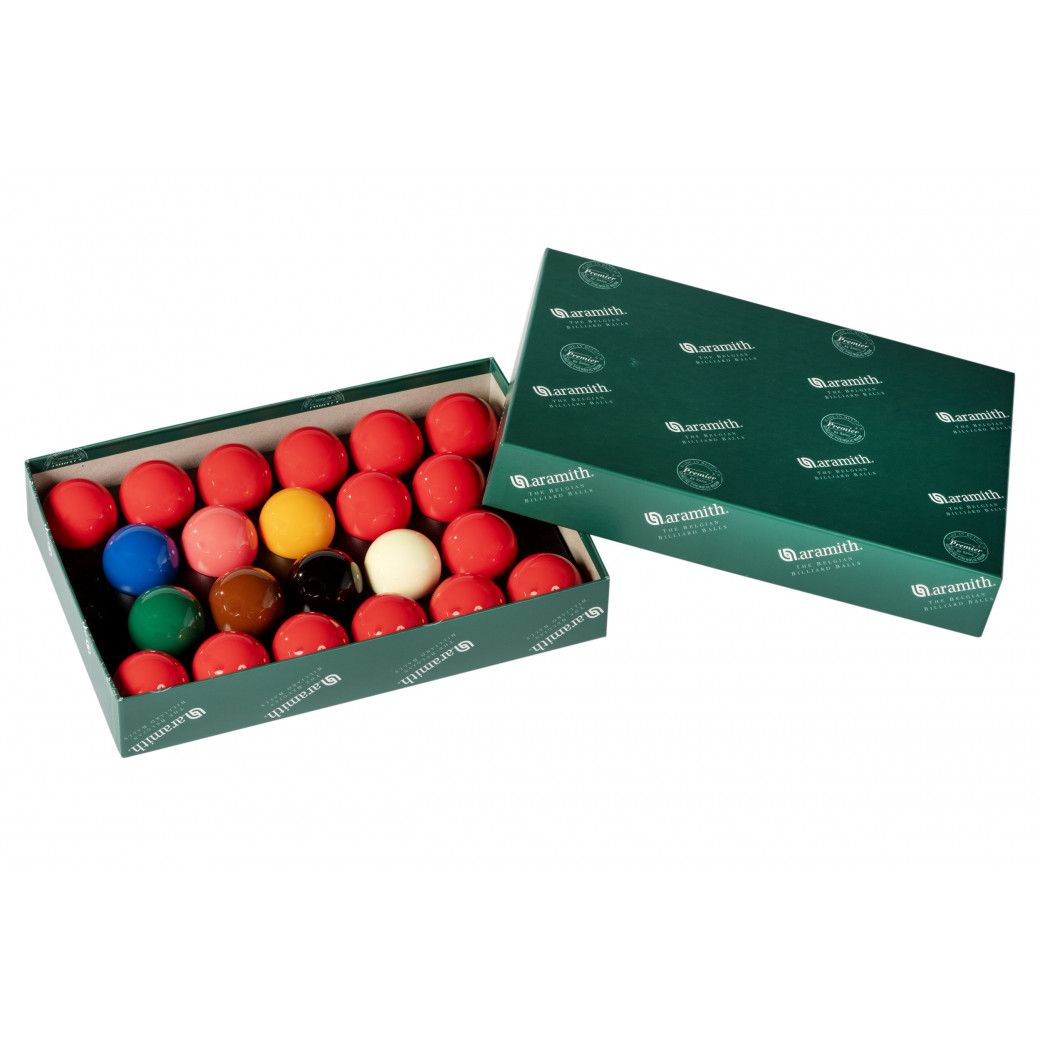 Billes de billards snooker Aramith premier 15 rouges