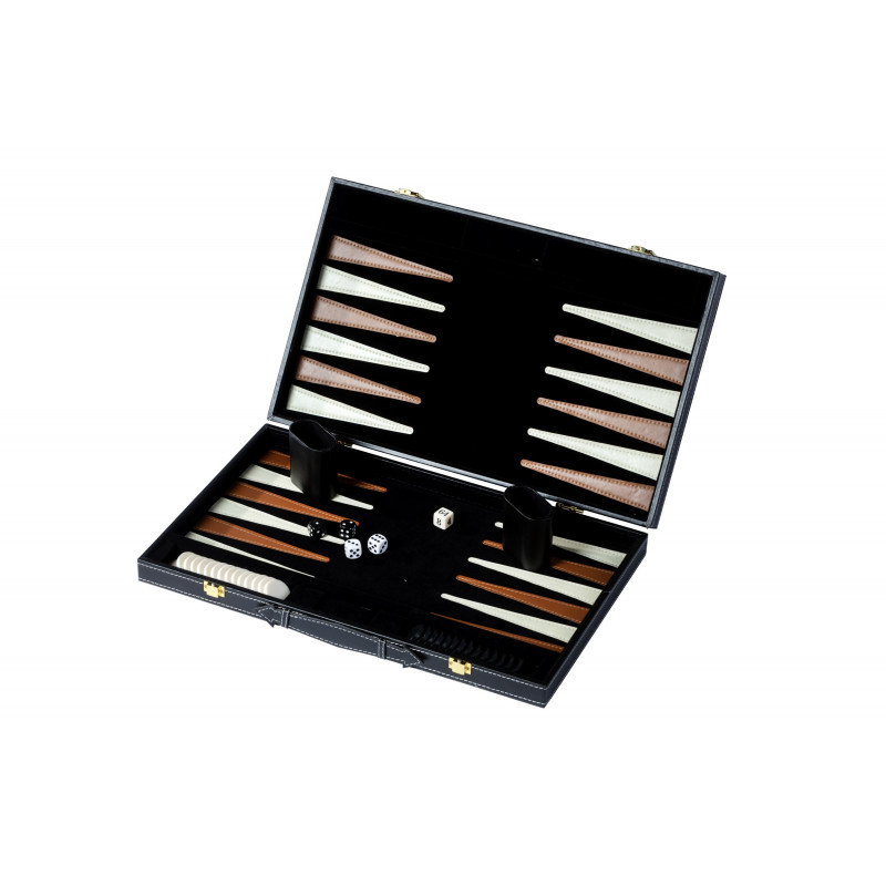 Backgammon noir