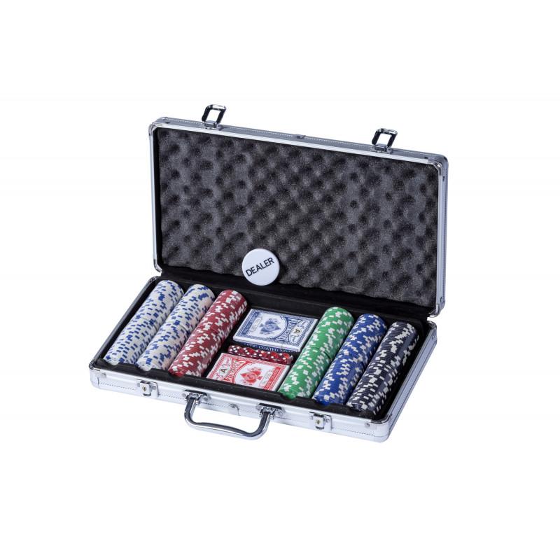 Malette poker en aluminium 300 jetons