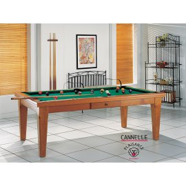 Billard table CANNELLE en 2,10 m