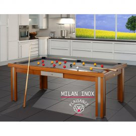 Billard table MILAN Verre ou Inox