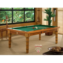 Billard table Prestige CEYLAN en 2,10 ou 1,90 m