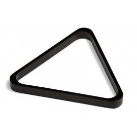 Triangle pour billes en Ø 57 mm bois noir us