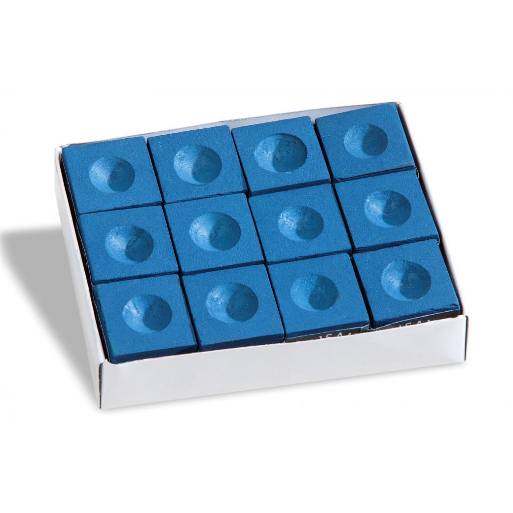 Boîte de 12  craies bleues
