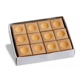 Boîte de 12  craies jaunes