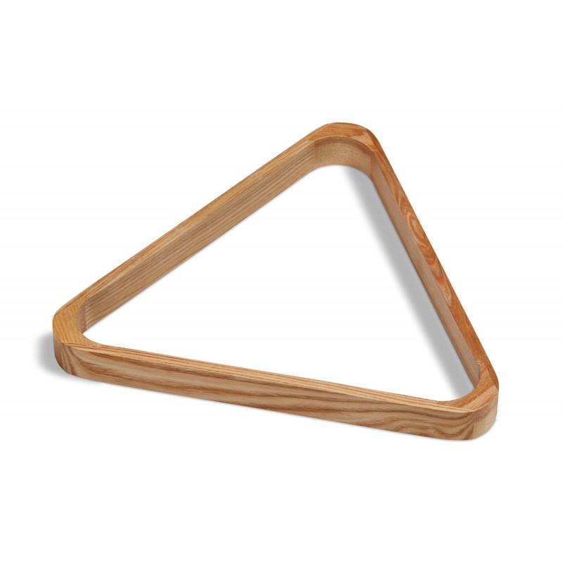 Triangle pour billes en Ø 57 mm bois chêne us