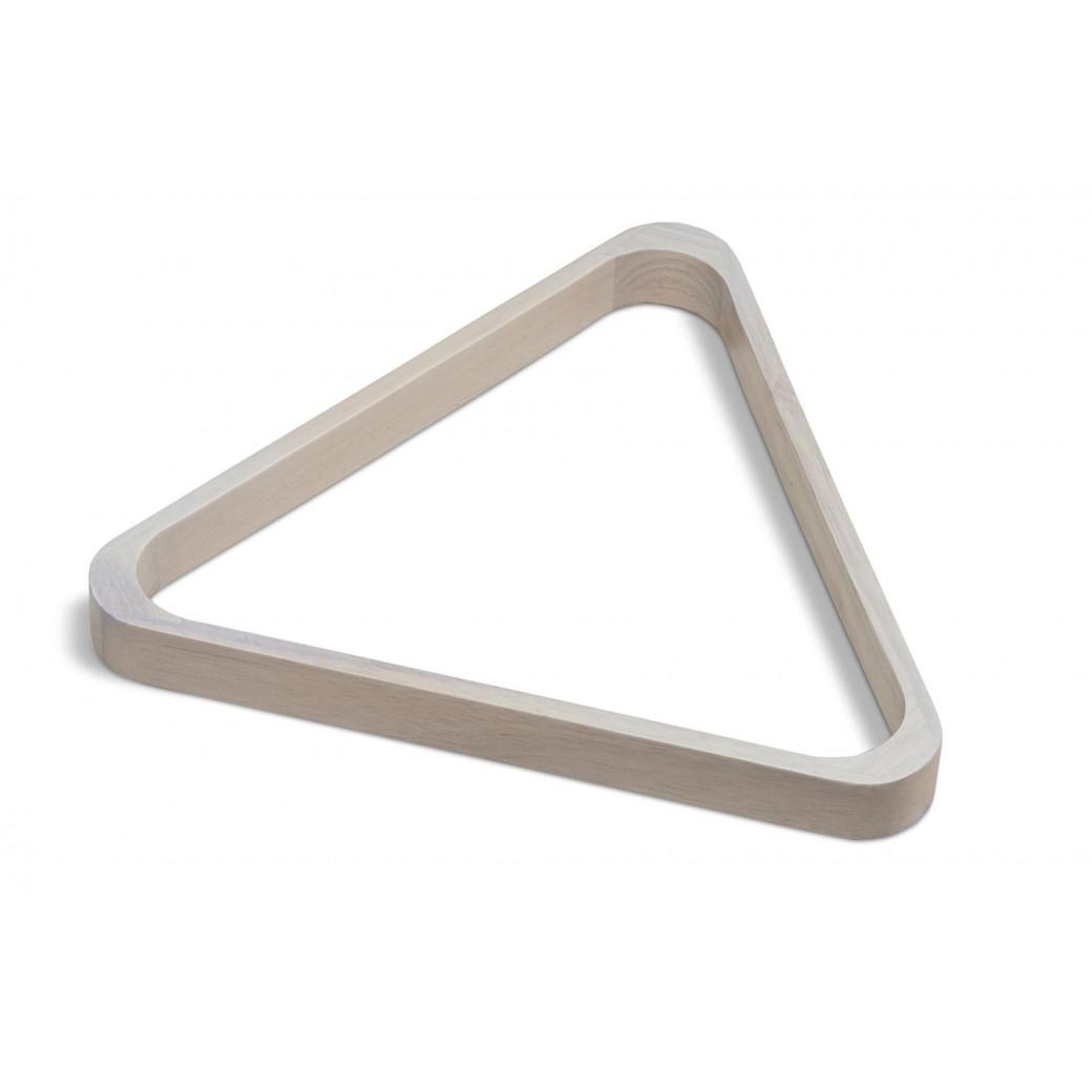 Triangle pour billes en Ø 57 mm bois blanc us