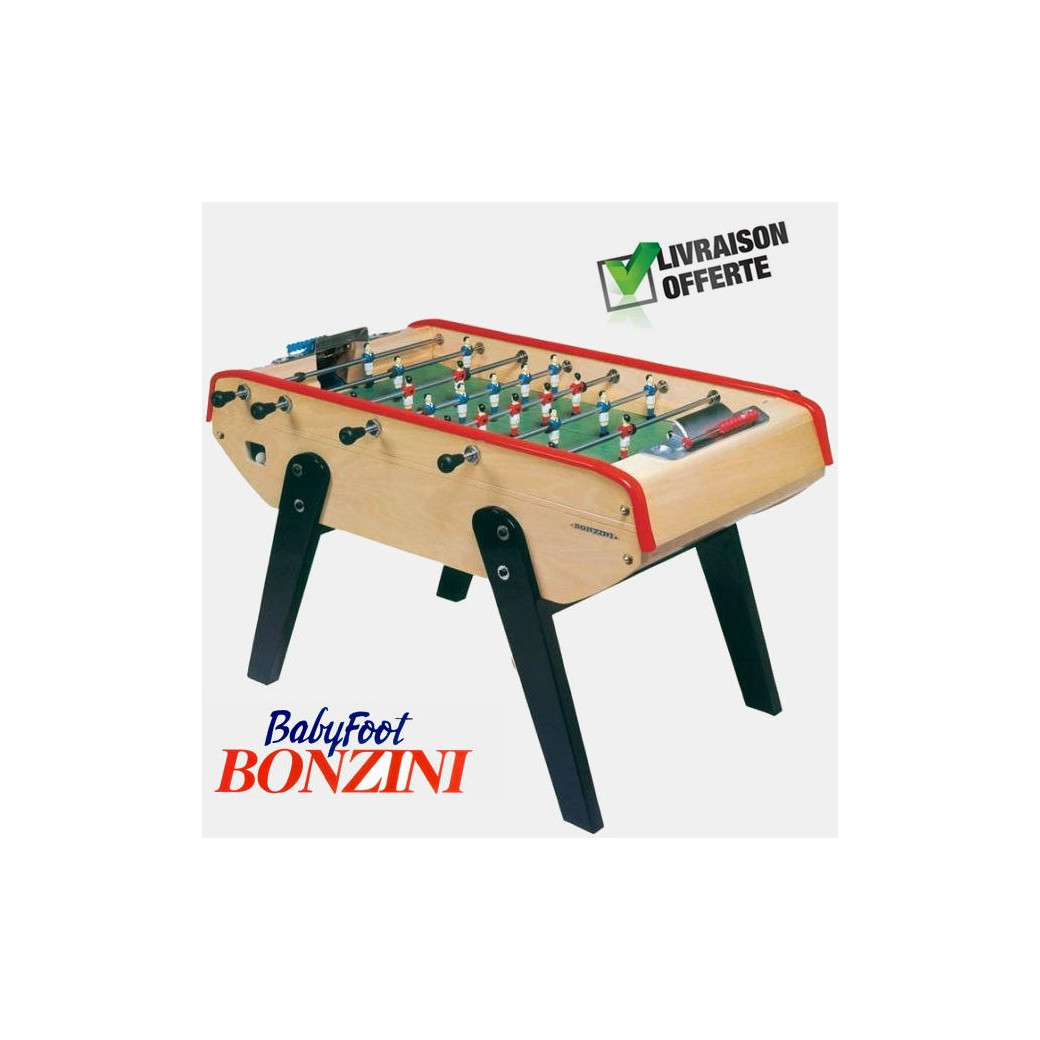 Baby foot bonzini : B90 sans monnayeur