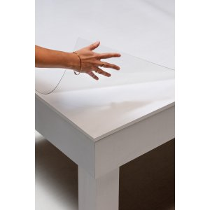 protection transparente pour table. Black Bedroom Furniture Sets. Home Design Ideas