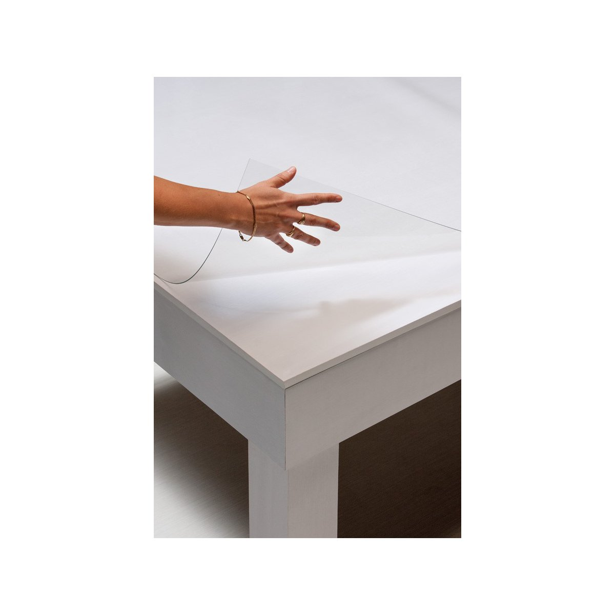protection transparente pour table