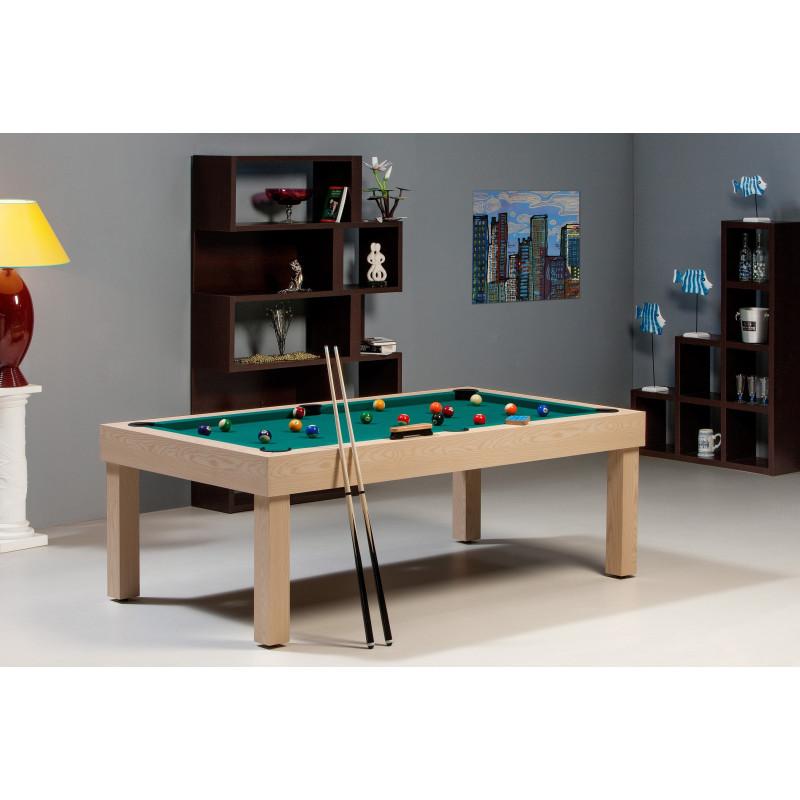 Billard table américain : Bora-Bora Chêne -