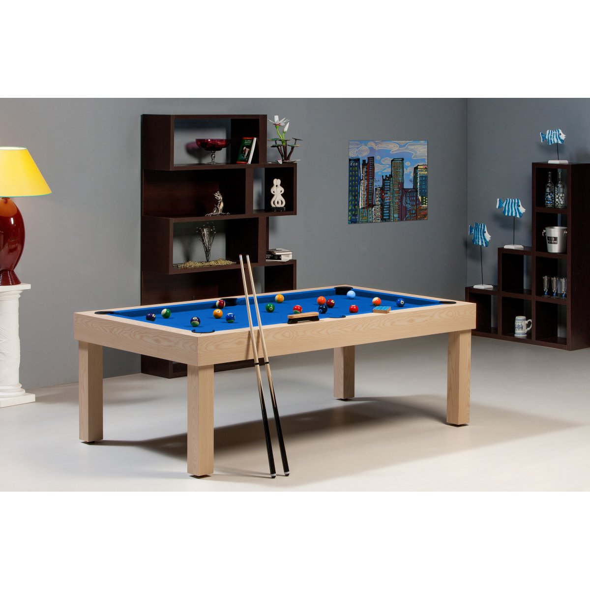 billard americain plateau de jeu ardoise table en ch ne. Black Bedroom Furniture Sets. Home Design Ideas