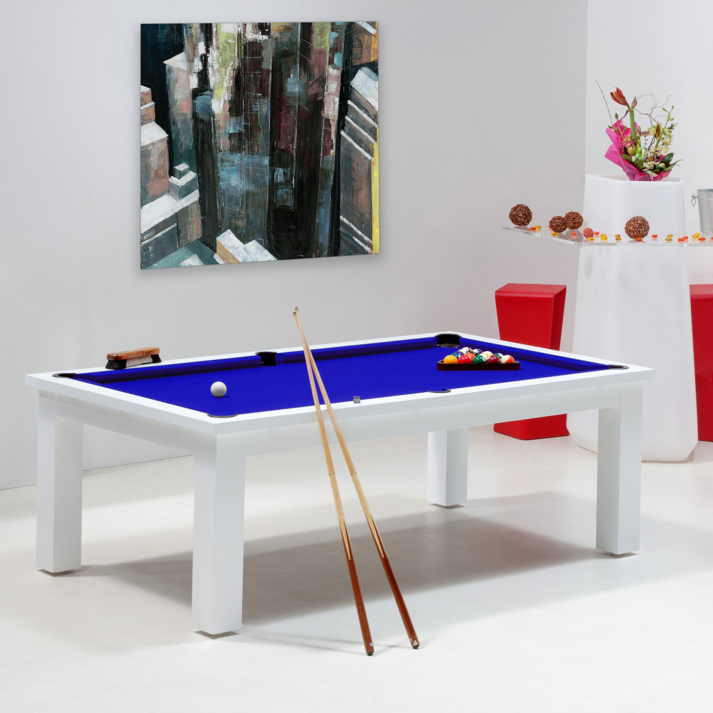 Billard : bleu pool
