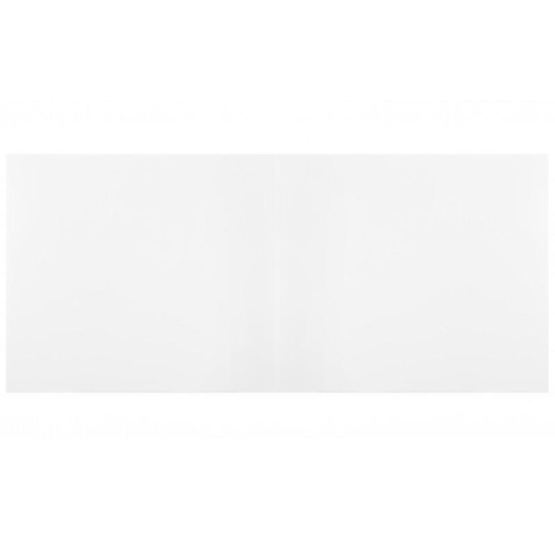 Table billard convertible : Dessus de table en bois blanc sans allonge