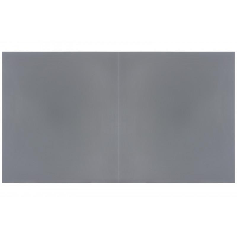 Table billard convertible : Dessus de table en bois gris RAL 7036 sans allonge
