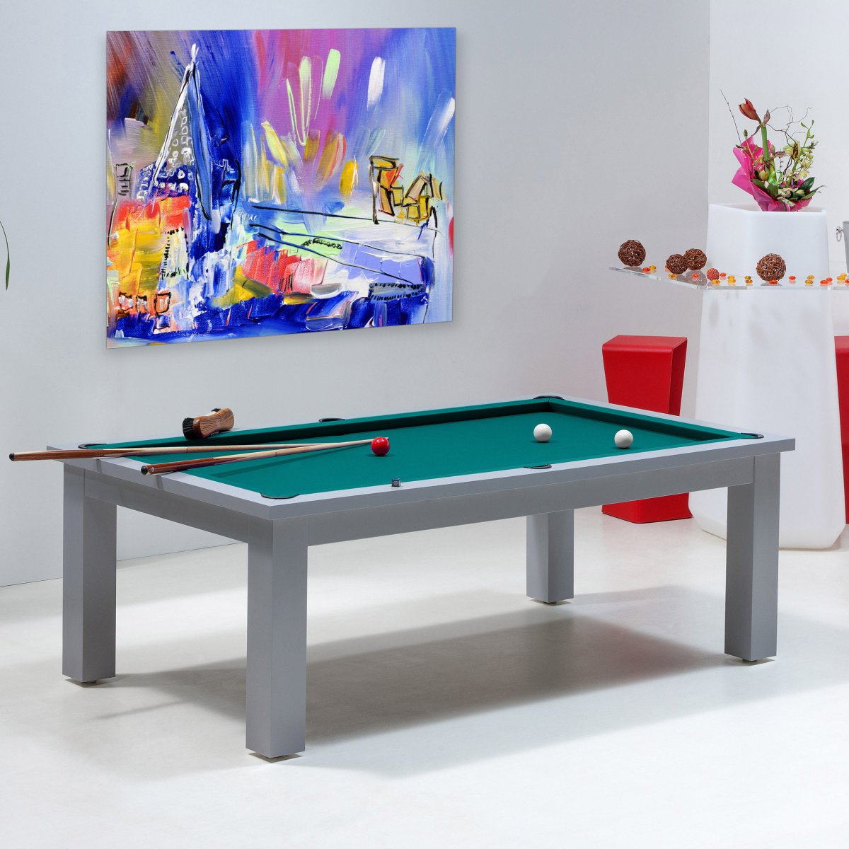 Table billard convertible billard transformable table boston - Table basse convertible en table a manger ...