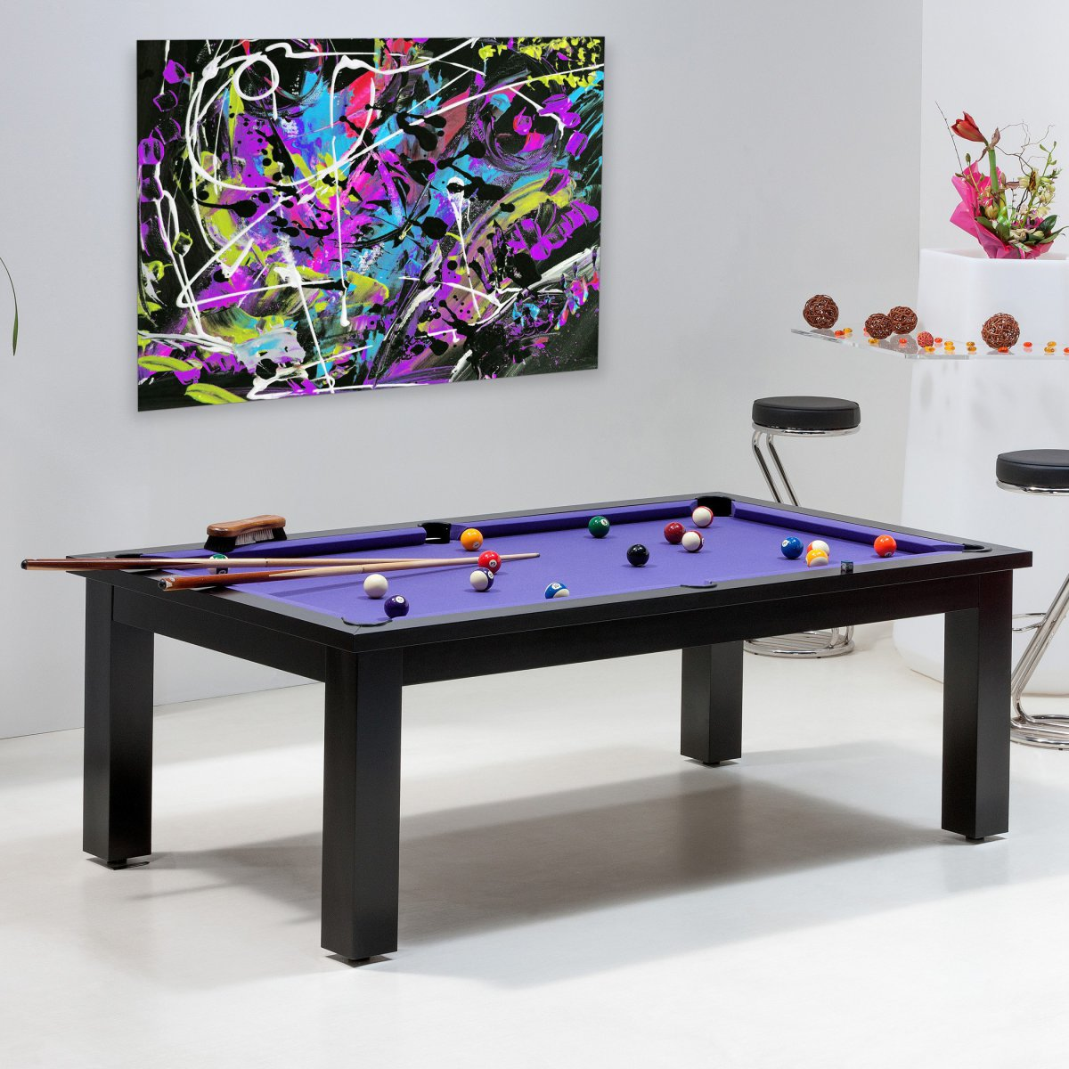 Achat billard uniquement sur billards de france le miami - Table de billard transformable ...
