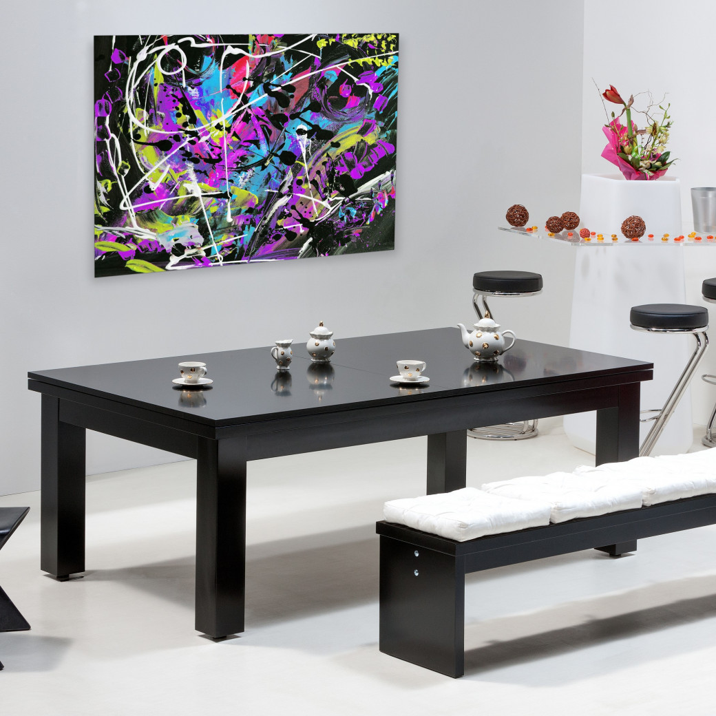 Achat billard table : Table billard convertible avec dessus de table en bois